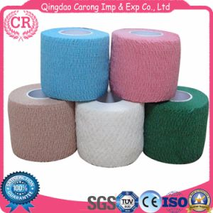 Sports Tape Non-Woven Cohesive Bandage pictures & photos