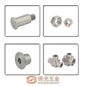 CNC Machinery Parts / Automatic Lathe Precision Parts F154 pictures & photos