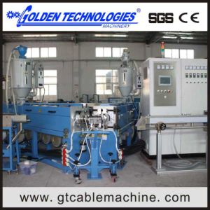 Custom Design Outside Sheath Wire Cable Extrusion Machine Price pictures & photos