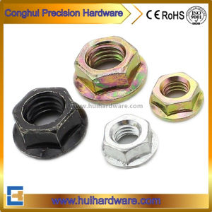 DIN6923 Carbon Steel Hexagon Flange Nuts pictures & photos
