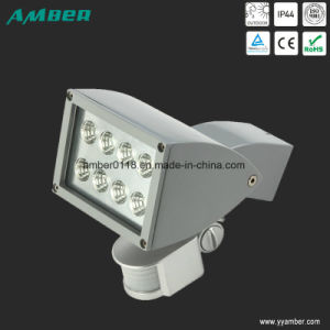 Adjustable Single-Head 10W COB Wall Light with Sensor pictures & photos