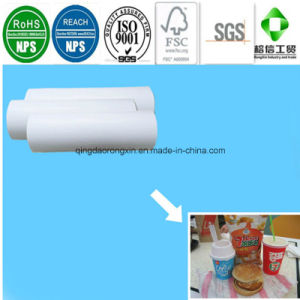 PE Coated Paper for Lotteria Ice Cream Cup pictures & photos
