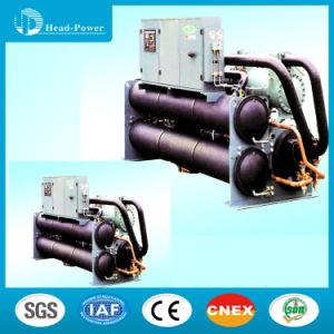 Screw Type Water Source Heat Pump Ground Source Chiller Hwwld780r pictures & photos
