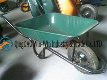 Building South Africa Model Solid Green Wheel Barrow Wb3800 pictures & photos