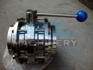 Stainless Steel Handle Sanitary Welded Butterfly Valve (ACE-DF-T1) pictures & photos