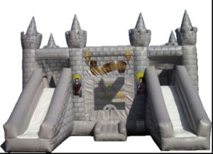 Inflatable Wizard′s Castle Bounce House with Slide (CZH-1012)