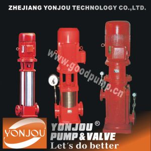 Boosting Vertical Multistage Fire Fighting Pump pictures & photos