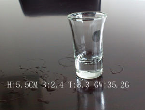 Shot Glass with 1.5cm Thickness Bottom (AYA5040)
