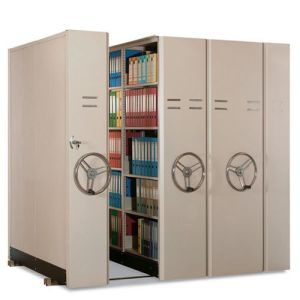 Archive Storage Shelving Movable Rack/Book Shelf/Bookshelf/Office Furniture pictures & photos
