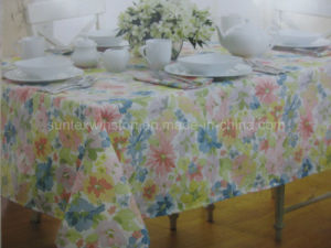 Transfer Printed Table Cloth pictures & photos
