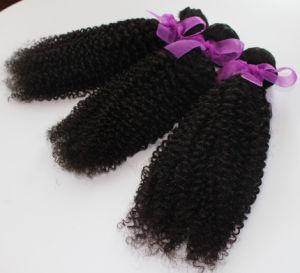 8A Brazilian Virgin Human Hair Weave Kinky Curl Hair pictures & photos