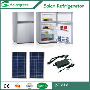 50W Power DC 12V Single Door up-Freezer Solar Upright Refrigerator pictures & photos