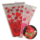 Printed PP OPP CPP BOPP Plastic Flower Sleeves pictures & photos