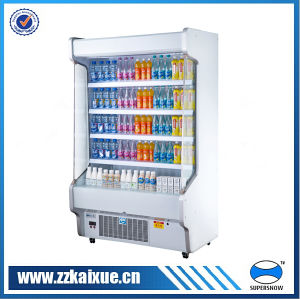 Counter Commercial Display Freezer for Dairy
