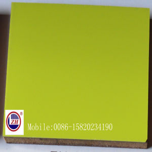 Apple Green UV MDF for Kitchen Cabinet Door (ZH-3919) pictures & photos