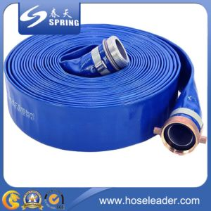 Superior High Pressure PVC Layflat Hose for Farm Irrigation pictures & photos