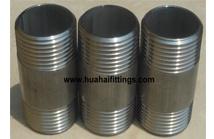"""Barrel Nipple Sch40 150lbs Threded Wp304/304L-W 11/4""""X3"""""""