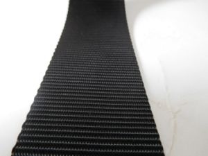 45mm Black Polyester Webbing for Car Safety Belt pictures & photos