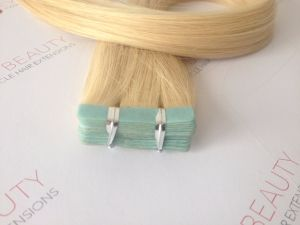 2017 Tape in Extensions 100% Human Hair Virgin Hair pictures & photos