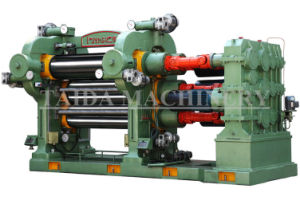 Hard Chrome Coated Roll Rubber Calender Machinery pictures & photos