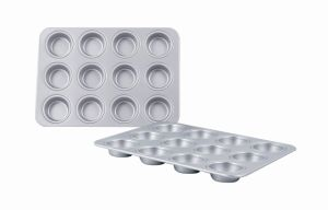 Bakeware Aluminum Anodized 12 Hole Muffin Pan (MY2852A) pictures & photos