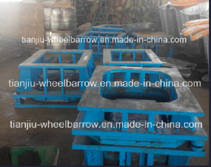 Wheelbarrow Tray Mould Making Wb6400 pictures & photos