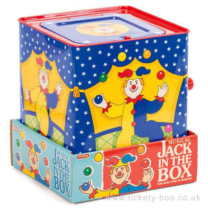 Customized Lovely Plush Cartoon Tin Box of Jack in The Box pictures & photos