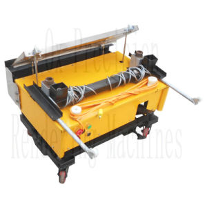 Quality Assurance Automatic Rendering Machine for Wall