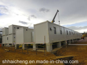 Flat Pack Container House/Container House Cheap/Foldable House (shs-fp-dormitory021) pictures & photos