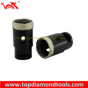 Vacuum Brazed Diamond Core Bit for Stone Drilling pictures & photos