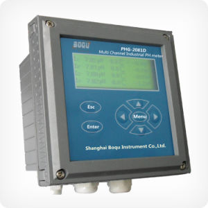 Multi-Channel Water Treatment pH Meter (PHG-2081D) pictures & photos