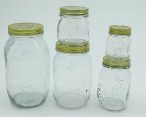 Jam Honey Mason Jar Preseving Food Glass Jar Glass Bottle pictures & photos