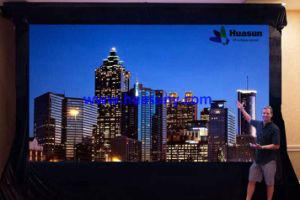 Foldable Flexible and Portable LED Screen Outdoor pictures & photos