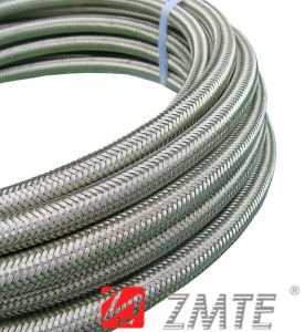 SAE 100 R14 Ss304 Ss316 Stainless Steel Braided Teflon Hose pictures & photos
