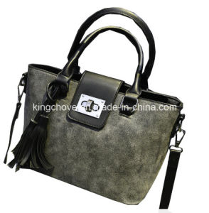 Large Capacity & Environmental & Good Quality PU Handbag (KCH272) pictures & photos