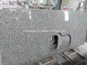 Swan White/Grey Granite Counter Top for Kithen and Bathroom pictures & photos