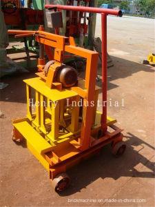 Qmr2-45 Mini Mobile Concrete Hollow Block Machine Price in India pictures & photos