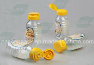Food Grade Plastic Honey Bottle with Silicone Valve Cap (PPC-PHB-02) pictures & photos