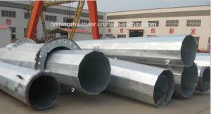 33kv & 11kv Slip Joint Type Tubular Steel Pole