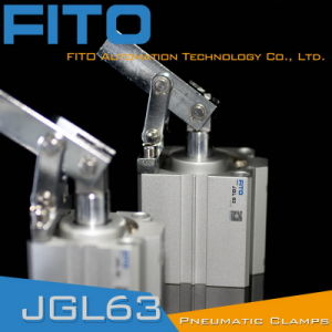 Jgl 25 Industrial Use Air Cylinder with Clamp Installation pictures & photos