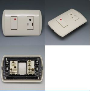 R14 Switched Power Outlet Socket for South America Market pictures & photos