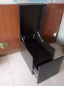 Supermarket Shoe Cabinet with Good Price pictures & photos