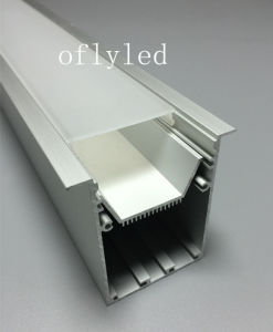 Large Recessed LED Aluminum Profile for Ceiling Lights pictures & photos