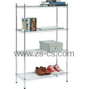 DIY Heavy Duty Chrome Adjustable Living Room Corner Shelf pictures & photos