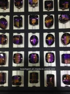 Beautiful Bi-Color Ametrine Big Free Size Gemstone pictures & photos