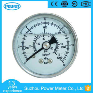 50 mm All Stainless Steel Case Liquid Filled Pressure Gauge pictures & photos