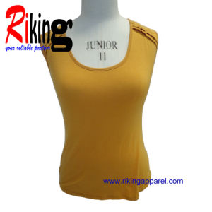 Fashion Ladies Garment Lace Vest (RKV1373)