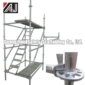 Galvanized Steel Round Ring Scaffolding for Construction (Q235) , Guangzhou Manufacturer pictures & photos
