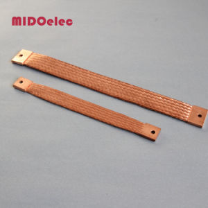High Quality Copper Flexible Jumper Braided Connector pictures & photos