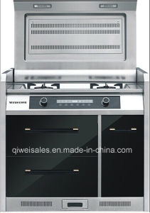Integrated Cooker with Double Gas Stove (JJC-90L3) pictures & photos